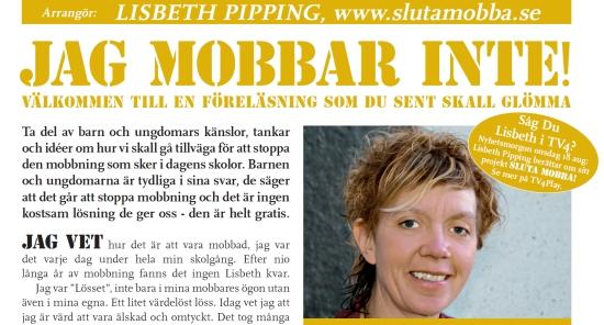 Lisbeth Pipping - Sluta Mobba!